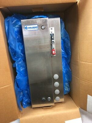 Westinghouse/Challenger Comb. Starter 7.5hp @ 208V 3PH Stainless Watertight Encl
