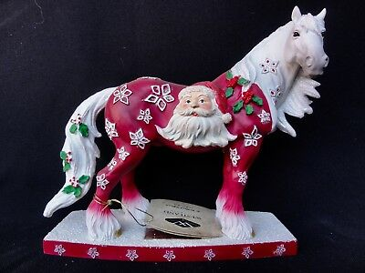 """Westland Horse Of A Different Color """" Santa Claus Clydesdale """" Horse #00010"""