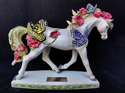 """Westland Horse Of A Different Color """" Butterfly Garden """" Horse #00010 Of 10000"""