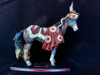 """Westland Horse Of A Different Color """" Hidatsa Chief """" Horse #00005 Of 10000"""