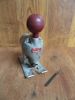 Sher Jig Saw Attachment For Drill – Collectable Restoration Piece