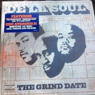 DE LA SOUL – THE GRIND DATE 2x Vinyl LP SANDV296 New Unplayed