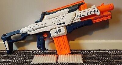 NERF modulus Gun Elite Cam ECS-12 auto fire Built In Camera & Screen 33.99