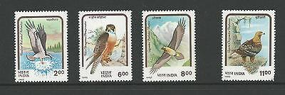 1992 Birds of Prey set of 4 stamps complete MUH/MNH