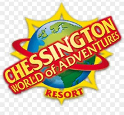 2 x tickets for 17th August 2018 for chessington world of adventures SCHOOL HOLS