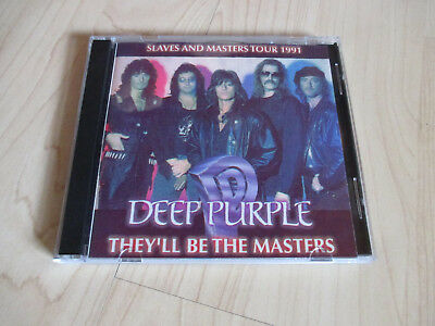 Deep Purple - They'll Be The Masters (Live in Freiburg 1991, 2 CDs)