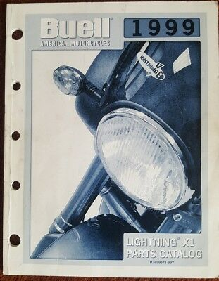 BUELL '99 LIGHTNING X1 parts catalogue 99571-99Y