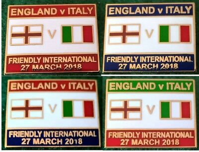 England v Italy 2018 Friendly International 27 March 2018