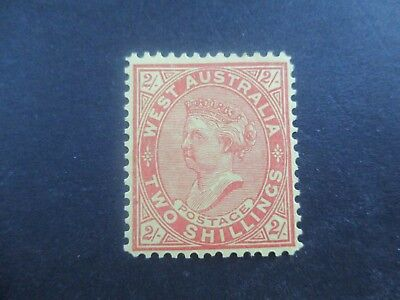Western Australia Stamps: 2/- Queen Victoria  Mint   (a35)