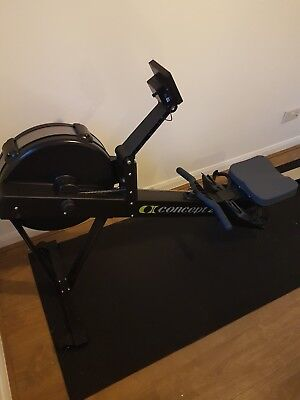 Concept 2 Rowing Machine  - Black Model D with PM5 Console.  Hardly used!