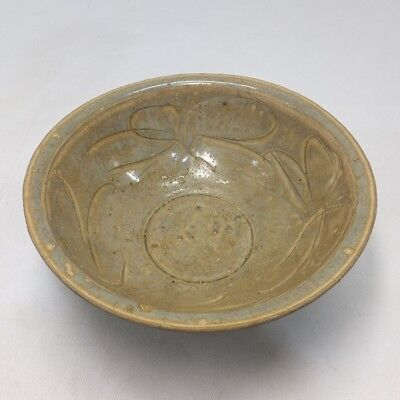 F573: Chinese blue porcelain bowl of appropriate tone and sculpture work