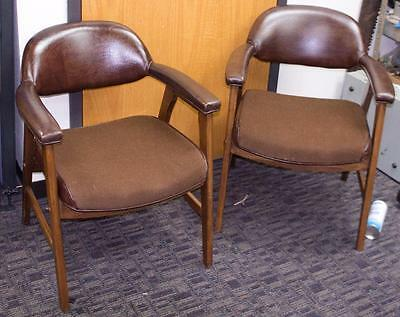 2 Nice Mid Century Modern Hon Co. Murphy Miller Division Chairs !