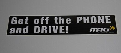 """Get off the phone and Drive"" Stickers"
