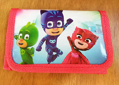 PJ Masks kids Cion Money Pouch Bags Purses Wallets birthday Gift  red a