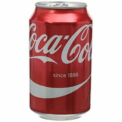 Coca-Cola Soft Drink Can 330 ml (Pack of 24)