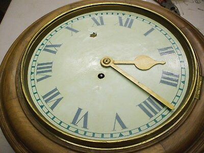 """11"""" Round Dial Cord Fussee Clock For Renovation"""