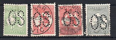 Australia Official 1913 Officials Fine Used