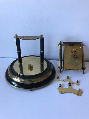 A VERY RARE 400 DAY ANNIVERSARY CLOCK Kern & Söhne four glass case Jahresuhr