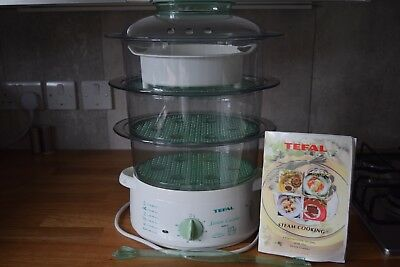 Tefal 3 Tier Food Steamer With Rice Compartment