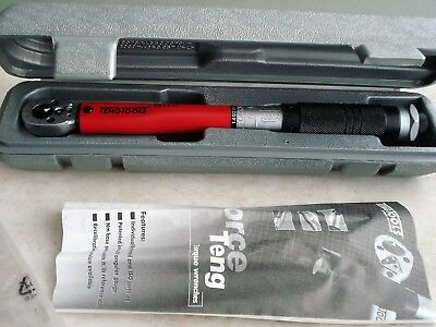 Teng  Tools Torque  Wrench  1 / 4  Drive  New  Stock No 1492Ag - E.