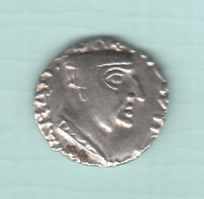 India 2000 Years Old NAHAPANA Extremely RARE Silver Ancient Drachma Coin 203