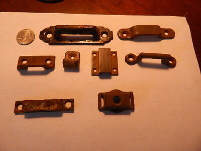 Lot of 8 Latch Keepers  (CLK123)