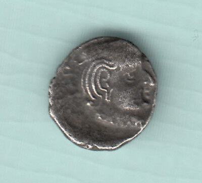 India 2000 Years Old Extremely RARE Western Kshatrapas Silver Ancient Coin 207