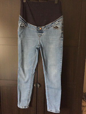 New Look Skinny Maternity Jeans Size 14 Over the bump