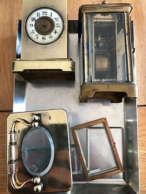 Old Carriage clocks for parts