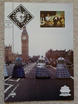 Dr Doctor Who fanzine - Celestial Toyroom issue 201 1993 30th Anniversary issue