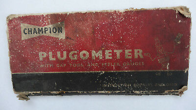 Champion Plugometer With Gap Tools and Feeler Gauges