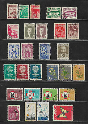 Albanien, Albania, o/used Lot 1959 - 1970, 3 Scans !