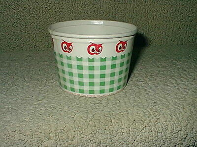 Rare Vintage Red Owl Grocery Food Store Cottage Cheese Box Container