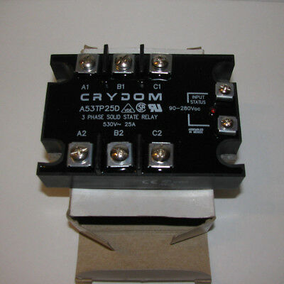 CRYDOM A53TP25D 3 Phase Solid State Relay