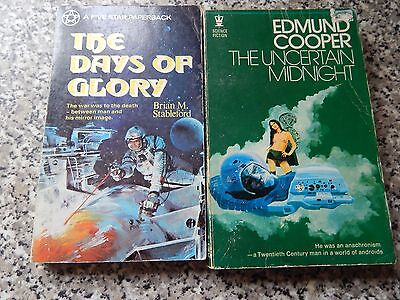 2 Fantastic Viintage Science Fiction Novels