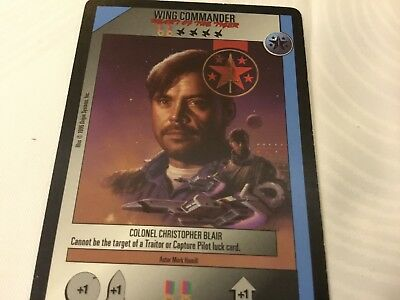Wing commander CCG - mark hamill as colonel Christopher Blair