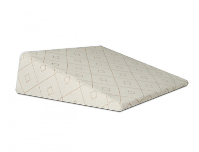 Brentwood Home Pfeiffer Therapeutic Gel Foam Wedge Pillow, Made in USA, 8-inch