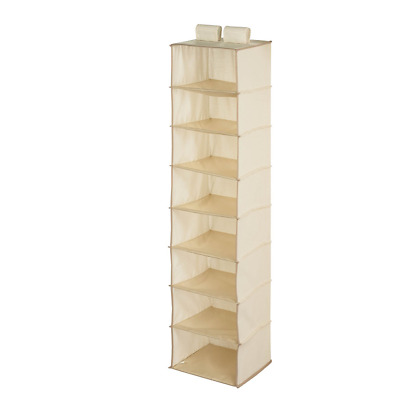 Honey-Can-Do SFT-01253 8-Shelf Hanging Organizer, Natural