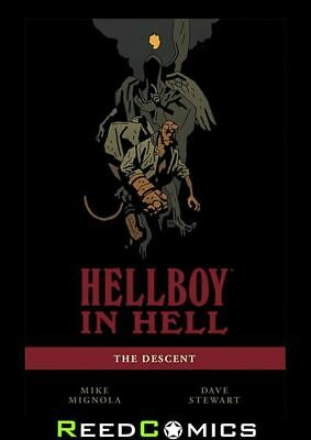 HELLBOY IN HELL VOLUME 1 DESCENT GRAPHIC NOVEL Paperback Collects Issues #1-5