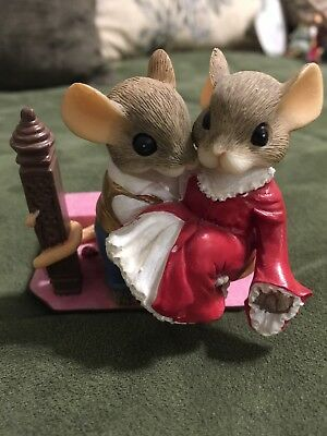 """Charming Tails """"Ain't Love Grand"""" Gone with the Wind Hamilton Collection"""
