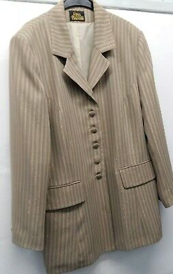 Gina Bacconi Trouser Suit Size 18