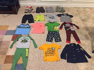 17 Piece Lot Boys 4T Summer Clothes Very Good Condition