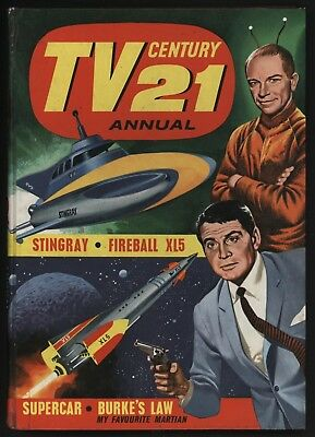 TV 21 ANNUAL 1966 (1st one) NO WRITING INSIDE BELONGS TO BOX CLEAR - VERY NICE