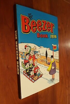 The Beezer Book Annual 1974 - Great condition unclipped