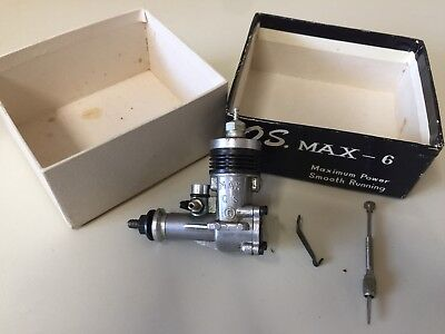 A New in box OS Max 6 Vintage Model Aircraft Engine 1cc