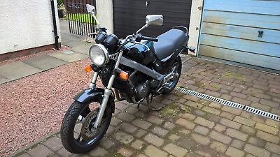 1993 Honda NTV650 Motorcycle Black. Easy Project. Starts and Runs. £££s spent.
