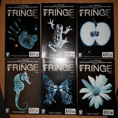 Fringe Comic - First Rare Series - Complete 1-6 - DC Comics - JJ Abrams TV Show