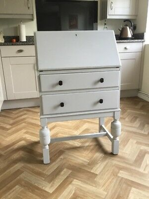 Vintage Shabby Chic Writing Bureau