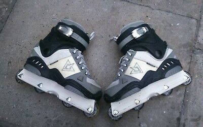 TRS Downtown Inline Aggressive Skates Size 7 UK