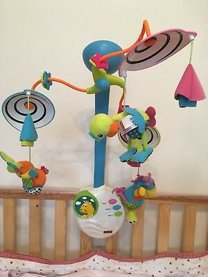 Tiny Love Classic Development Musical Baby / Newborn Mobile For Cot / Bed